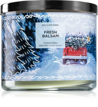 Bath & Body Works Fresh Balsam scented candle V.