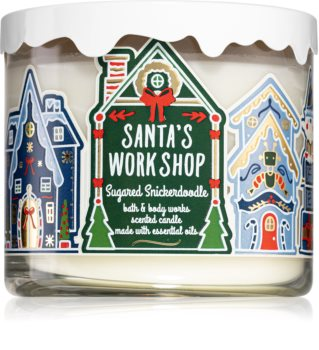 Bath & Body Works Sugared Snickerdoodle scented candle (Santa's WorkShop)