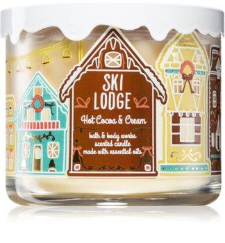 Bath & Body Works Hot Cocoa & Cream bougie parfumée aux huiles essentielles