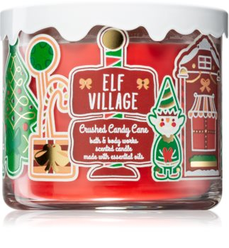 Bath & Body Works Crushed Candy Cane vonná sviečka