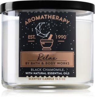 Bath & Body Works Relax Black Chamomile αρωματικό κερί