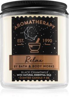 Bath & Body Works Relax Black Chamomile ароматна свещ  I.