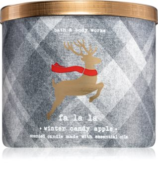 Bath & Body Works Winter Candy Apple vonná sviečka