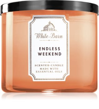 Bath & Body Works Endless Weekend vonná sviečka II.
