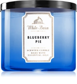 Bath & Body Works Blueberry Pie scented candle I.