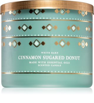 Bath & Body Works Cinnamon Sugared Donut illatos gyertya