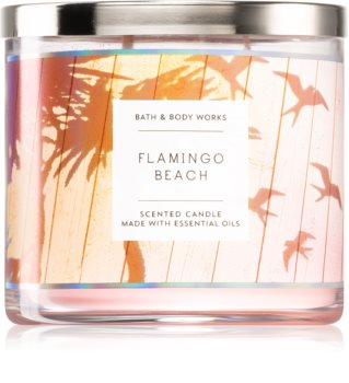 Bath & Body Works Flamingo Beach Duftkerze