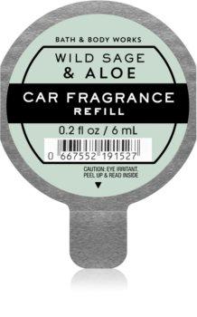 Bath & Body Works Wild Sage & Aloe vůně do auta náhradní náplň