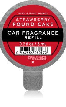 Bath & Body Works Strawberry Pound Cake vôňa do auta náhradná náplň