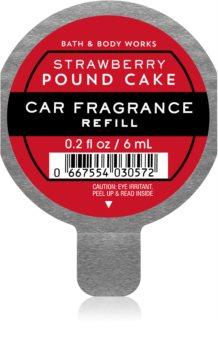 Bath & Body Works Strawberry Pound Cake vůně do auta náhradní náplň