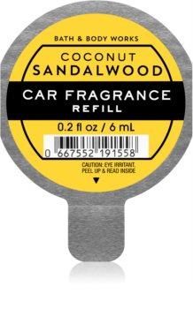 Bath & Body Works Coconut Sandalwood vôňa do auta náhradná náplň