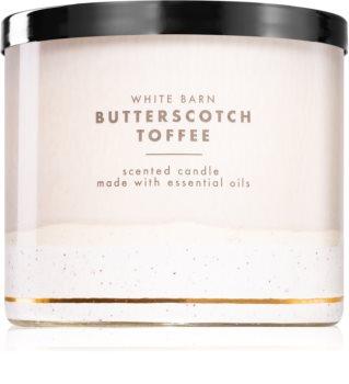 Bath & Body Works Butterscotch Toffee vonná sviečka