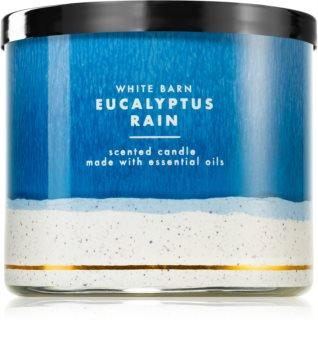 Bath & Body Works Eucalyptus Rain scented candle IV.