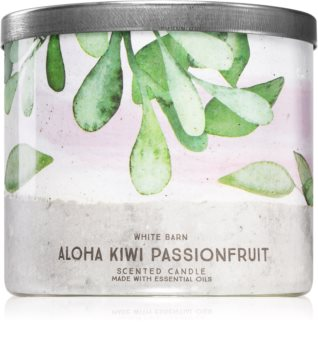 Bath & Body Works Aloha Kiwi Passionfruit bougie parfumée I.