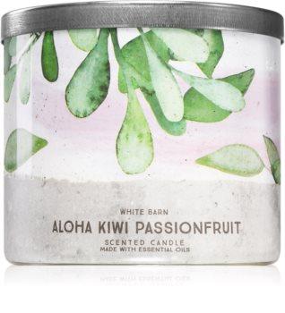 Bath & Body Works Aloha Kiwi Passionfruit scented candle I.