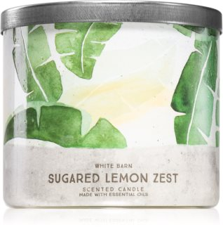 Bath & Body Works Sugared Lemon Zest vela perfumada