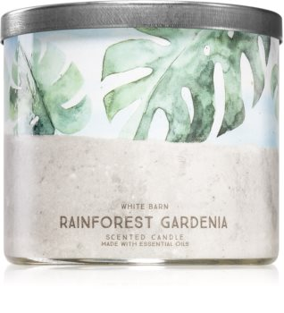 Bath & Body Works Rainforest Gardenia vonná svíčka