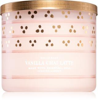 Bath & Body Works Vanilla Chai Latte scented candle