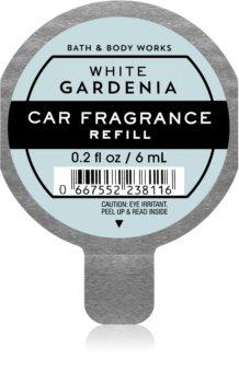 Bath & Body Works White Gardenia vôňa do auta náhradná náplň