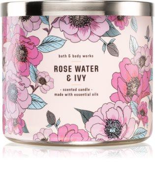 Bath & Body Works Rose Water & Ivy duftkerze