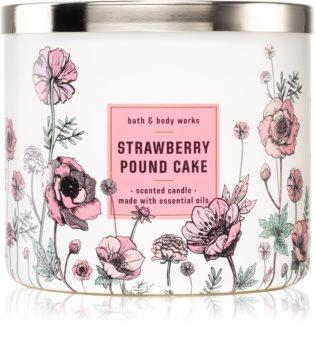 Bath & Body Works Strawberry Pound Cake duftkerze