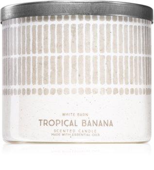Bath & Body Works Tropical Banana bougie parfumée