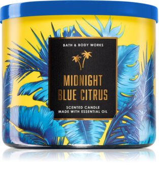 Bath & Body Works Midnight Blue Citrus vonná svíčka