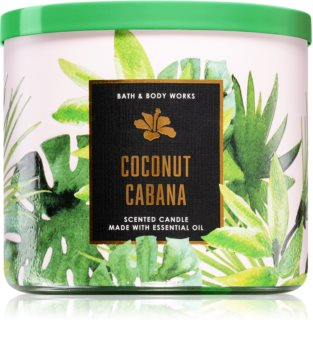 Bath & Body Works Coconut Cabana scented candle
