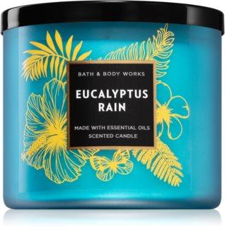 Bath & Body Works Eucalyptus Rain vonná sviečka III.