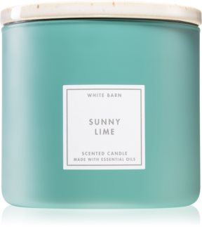 Bath & Body Works Sunny Lime scented candle