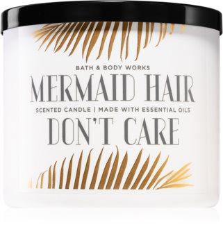 Bath & Body Works Mermaid Hair Don't Care aроматична свічка з есенціальними маслами І