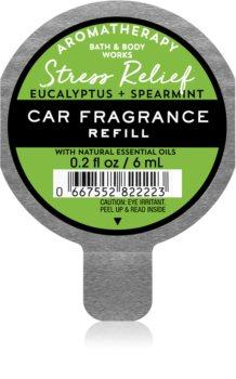 Bath & Body Works Stress Relief Eukalyptus Spearmint vůně do auta náhradní náplň