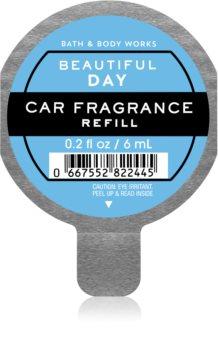 Bath & Body Works Beautiful Day parfum pentru masina rezervă