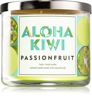 Bath & Body Works Aloha Kiwi Passionfruit mirisna svijeća