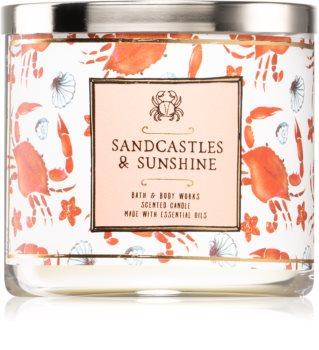 Bath & Body Works Sandcastles & Sunshine ароматическая свеча