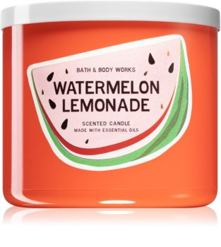 Bath & Body Works Watermelon Lemonade scented candle IV.