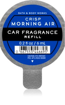 Bath & Body Works Crisp Morning Air άρωμα για αυτοκίνητο ανταλλακτικό