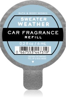 Bath & Body Works Sweater Weather ambientador auto recarga