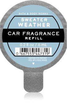 Bath & Body Works Sweater Weather parfum pentru masina rezervă
