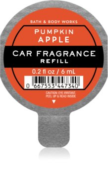 Bath & Body Works Pumpkin Apple deodorante per auto ricarica