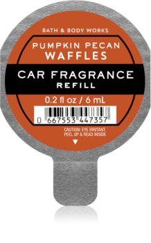 Bath & Body Works Pumpkin Pecan Waffles deodorante per auto ricarica
