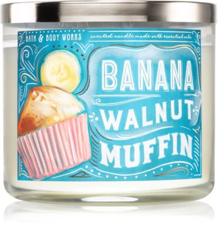 Bath & Body Works Banana Walnut Muffin bougie parfumée