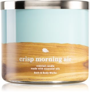 Bath & Body Works Crisp Morning Air vonná sviečka
