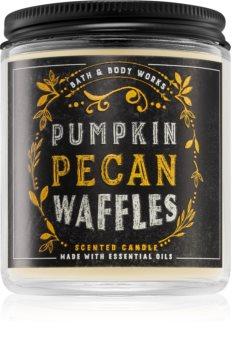 Bath & Body Works Pumpkin Pecan Waffles ароматна свещ  II.