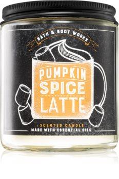Bath & Body Works Pumpkin Spice Latte vonná svíčka I.