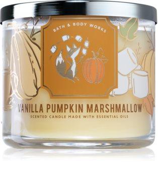 Bath & Body Works Vanilla Pumpkin Marshmallow ароматна свещ  II.