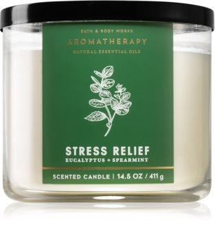 Bath & Body Works Aromatherapy Eucalyptus & Spearmint vonná svíčka I.