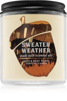 Bath & Body Works Sweater Weather vonná svíčka I.