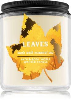 Bath & Body Works Leaves lumânare parfumată