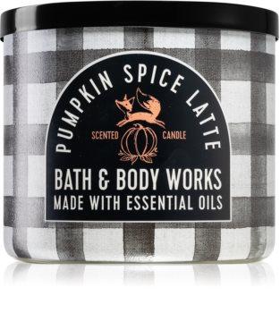 Bath & Body Works Pumpkin Spice Latte duftlys I.